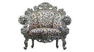 siege baroque le fauteuil proust d alessandro mendini exagérément baroque