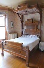 Victorian Canopy Bed Antique Canopy Bed Ebay