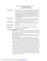 Perfect Essay Format Essay With Apa Format