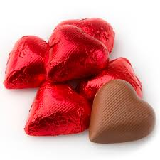chocolate heart candy foiled milk chocolate hearts chocolate candy delights bulk