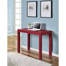 Small Writing Desk With Drawers by I Love Living Single Drawer White Parsons Desk Walmart Com