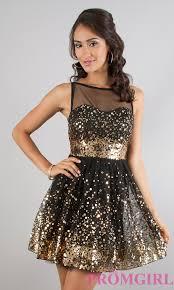 short sleeveless party dresses sequin black dresses promgirl