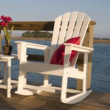 Polywood Long Island Recycled Plastic Polywood Adirondack Rocking Chairs Ideas Home U0026 Interior Design