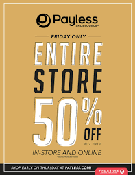 payless shoesource black friday 2017 ad deals sales