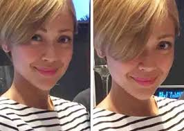 new haircut if jodi sta feel or fail jodi sta maria with her new bob hairstyle showbiz