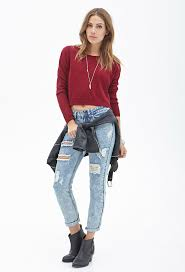 forever 21 drop sleeve cropped sweater where to buy how to wear