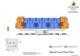 South Ridge Floor Plans Outlook Ridge Residences Baguio U2013 The Best Condos In Metro Manila