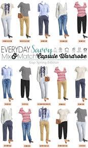 Wardrobe Clothing Gap Spring Capsule Wardrobe Great For Everyday U0026 Travel