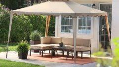 Sunshade Awning Gazebo Traditional Outdoor Backyard Garden Patio Deck Mosquito Bee And