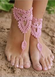 amazon com crochet black barefoot sandals beach pool shoes