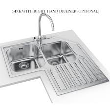 kitchen stainless sink corner sink kitchen corner sink ideas