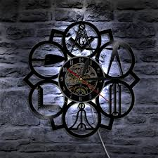 Masonic Home Decor Online Get Cheap Free Mason Clock Aliexpress Com Alibaba Group