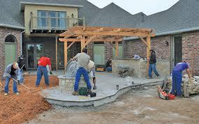 How Thick For Concrete Patio Landscapeonline Design U2022 Build U2022 Maintain U2022 Supply