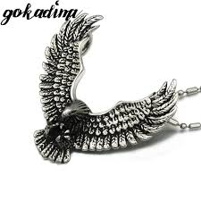 aliexpress buy gokadima 2017 new arrivals jewellery gokadima christmas gift 316l stainless steel eagle pendant