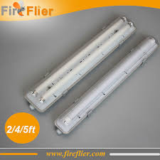 free 10pcslot double t8 2ft 4ft 5ft light fixture ip65 waterproof fluorescent lamp g13 holder led ing 18w 36win lighting from