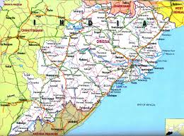 Geographical Map Odisha Geographical Map Pssucai