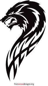 32 best wolf tribal designs images on