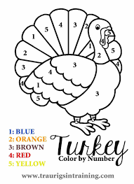 thanksgiving facts for kids holiday color number addition facts pages for in color