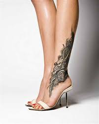 tattoo ideas for women unique dragon in foot tattoo models