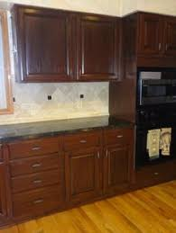 Cabinet Door Depot Reviews Rust Oleum Cabinet Transformation Before And After Home