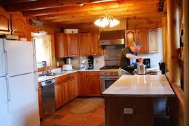 lodge kitchen cabin rental in pa clinton county pennsylvania ponderosa lodge