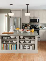 living kitchens at the home depot open shelving martha stewart