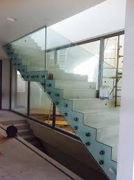 barandilla de cristal barandilla para escalera interior vidrestore