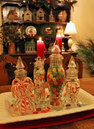 southern lagniappe christmas candy centerpiece