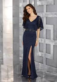 flutter style dress metallic lace special occasion gown with flutter sleeves and beaded
