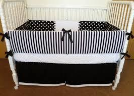 black and white crib bedding set lostcoastshuttle bedding set