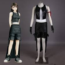 Halloween Costumes Video Games Japanese Video Game Psp Final Fantasy 7 Tifa Lockhart Cosplay