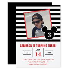 disney birthday invitations u0026 announcements zazzle