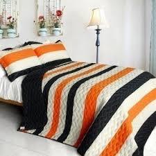 Orange Comforter Modern Queen Comforter Sets Foter