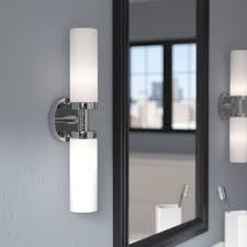 Bathroom Vanity Lights 2 Light Bathroom Vanity Lighting You U0027ll Love Wayfair