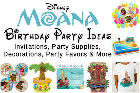 birthday party supplies best disney moana birthday party ideas fit for a polynesian
