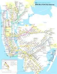 Map Of New York City Subway by New York City Subway Map Mesmerizing Subway Map Of Nyc