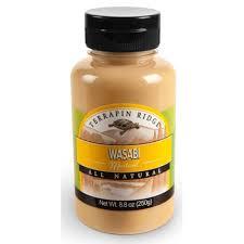 wasabi mustard gourmet spicy mustard combo pack by terrapin ridge wasabi