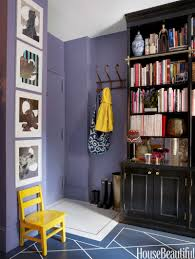 20 colorful entryways small spaces spaces and banquettes