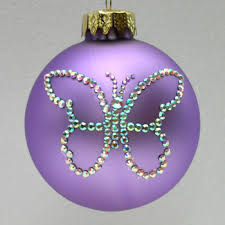 butterfly ornament tree ornaments depicting a butterfly