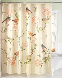 birds and blooms floral shower curtain from collections etc