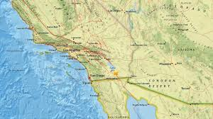 Southern Mexico Map by Swarm Of 100 Small Earthquakes Hits Near California Mexico Border