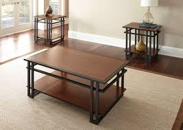 set of three end tables 3 piece coffee and end table set from unclaimed freight co in