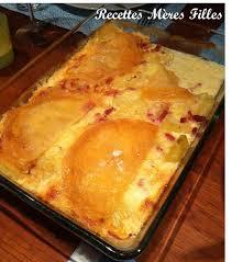 recette cuisine hiver la recette plat d hiver tartiflette recettes mères filles