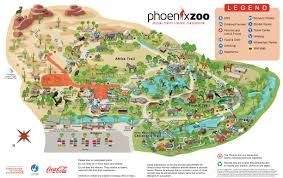 Map Phoenix Arizona by Phoenix Zoo Offering Discounted Tickets During Summer Construction