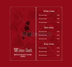 22 wine menu templates u2013 free sample example format download