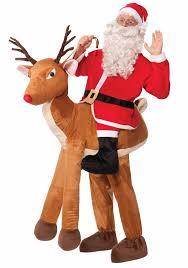 santa costumes santa claus ride a reindeer costume 115 99 the costume land