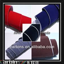 Car Upholstery Adhesive Auto Suede Fabric Self Adhesive Vinyl Sticker Car Velvet Fabric
