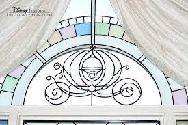 Cinderella S Coach Beautiful Cinderella U0027s Coach Stained Glass Window At Disney U0027s