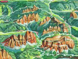 Map Of Verona Italy by Dolomites U2013 Lake Garda U2013 Verona Venice 200k Tabacco Road