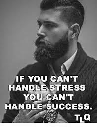 Success Meme - if you can t handle stress you can t handle success meme on me me